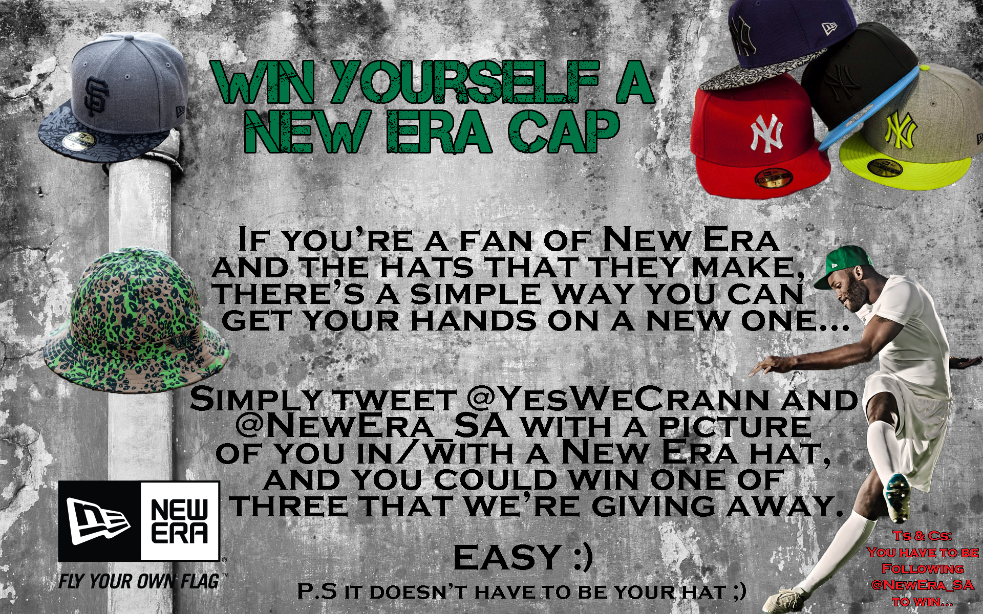 New Era Competition - How to win...